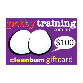 Clean Bum Gift Card $100