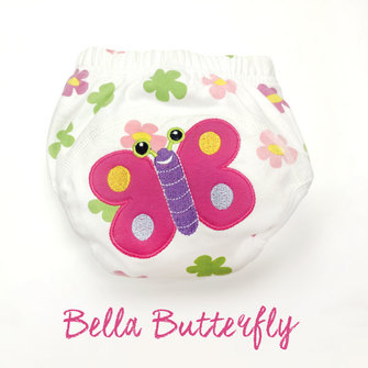 """BIG KID"" Training Pants > Bella Butterfly"