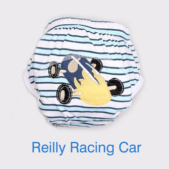 """BIG KID"" Training Pants > Reilly Racing Car"