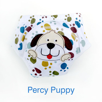 """BIG KID"" Training Pants: Percy Puppy"