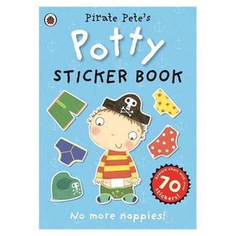 Pirate Pete's Potty Sticker Activity Book