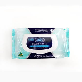 Flushable Wipes - 40 Pack