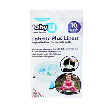 Potette Plus Liners: 10 Pack
