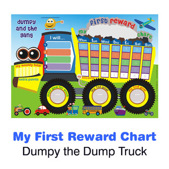 Dumpy & The Gang - My First Reward Chart