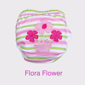 """BIG KID"" Toilet Training Pants Flora Flower"