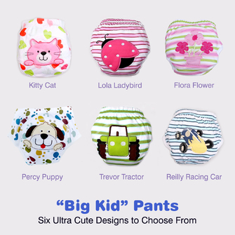 """BIG KID"" Toilet Training Pants: Multi Purchase Special"