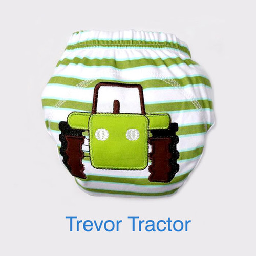 """BIG KID"" Training Pants: Trevor Tractor"