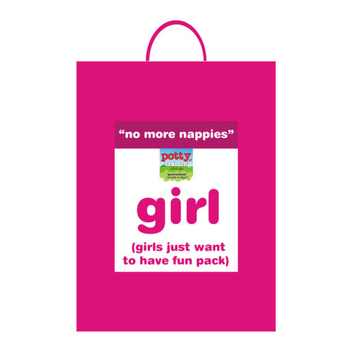 GIRLS Just Want To Have Fun Pack: Big Kid Pants: Small (3-11kg)